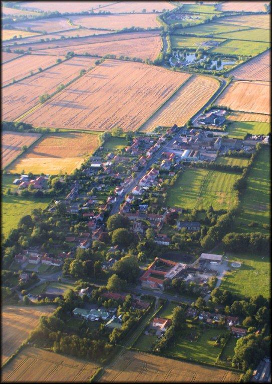 Amotherby aerial view