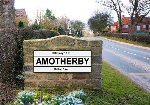 Amotherby Sign
